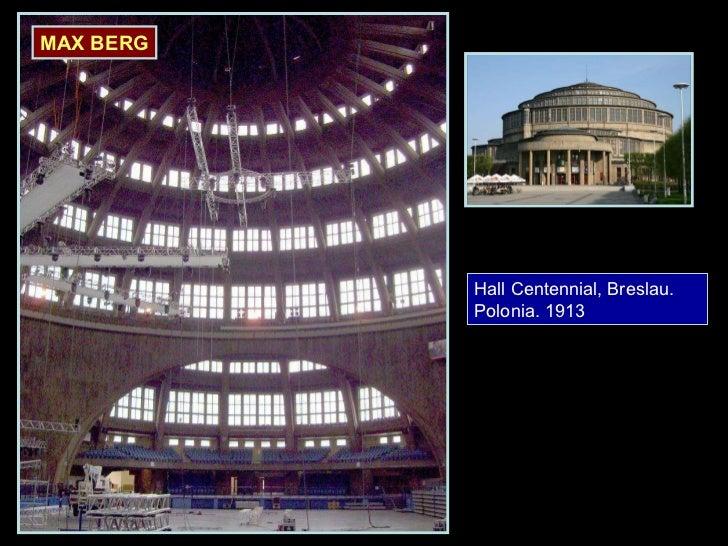 Hall Centennial, Breslau. Polonia. 1913 MAX BERG
