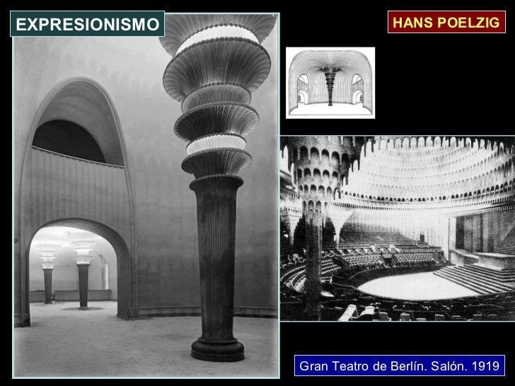Gran Teatro de Berlín. Salón. 1919 HANS POELZIG EXPRESIONISMO