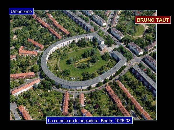La colonia de la herradura, Berlín, 1925-33 BRUNO TAUT Urbanismo