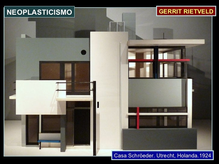 Casa Schröeder. Utrecht, Holanda.1924 GERRIT RIETVELD NEOPLASTICISMO