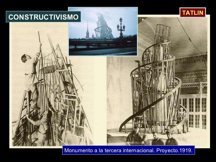 Monumento a la tercera internacional. Proyecto.1919. CONSTRUCTIVISMO TATLIN