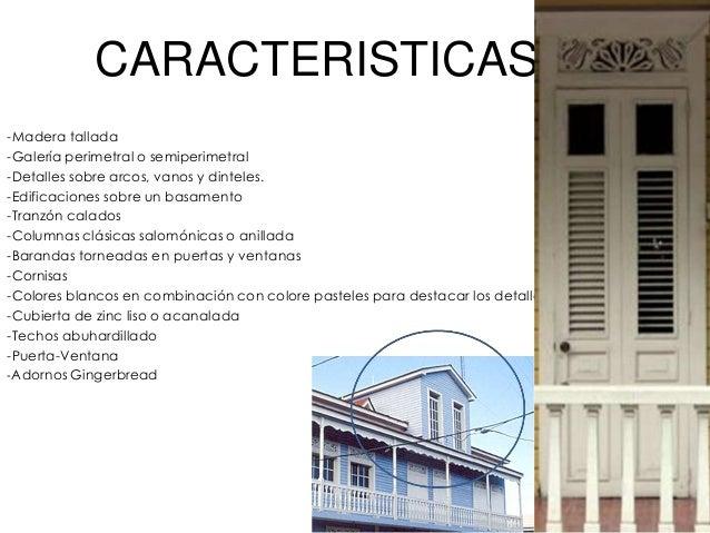 Arquitectura victoriana for Caracteristicas de la arquitectura
