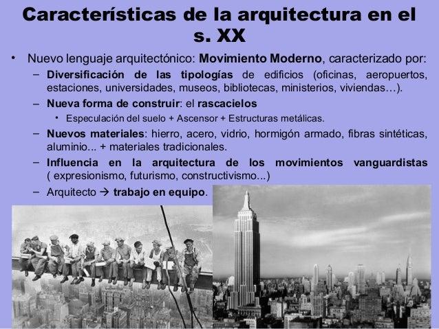 Arquitectura de la primera mitad del siglo xx for Arquitectura del siglo 20