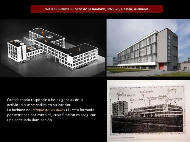 Arquitectura del siglo xx - Bauhaus iluminacion interior ...