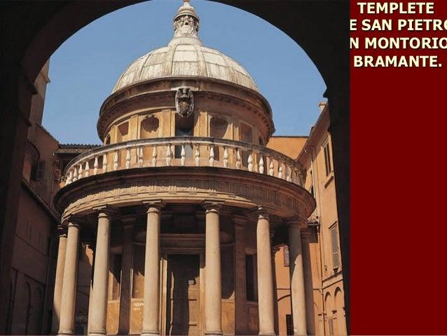 Arquitectura y escultura de cinquecento for Arquitectura quattrocento y cinquecento