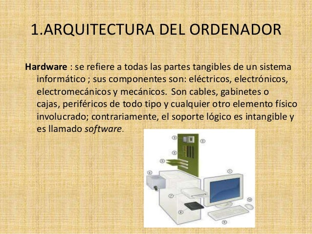 Arquitectura y funcionamiento del ordenador for Arquitectura ordenador