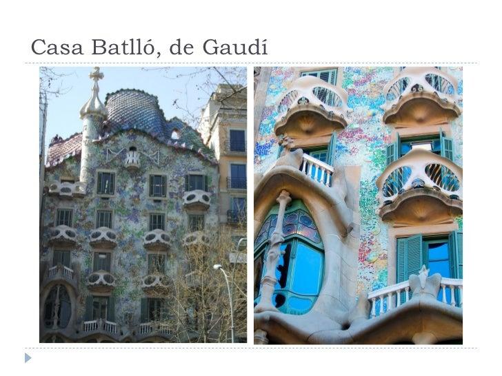 Casa Batlló, de Gaudí