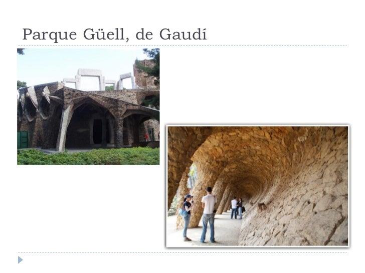 Parque Güell, de Gaudí