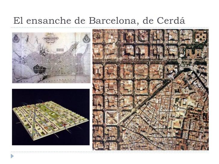 El ensanche de Barcelona, de Cerdá