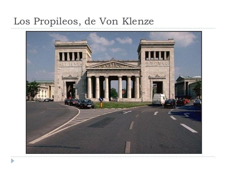 Los Propileos, de Von Klenze