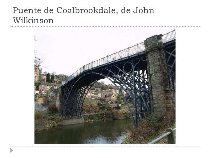 Puente de Coalbrookdale, de John Wilkinson