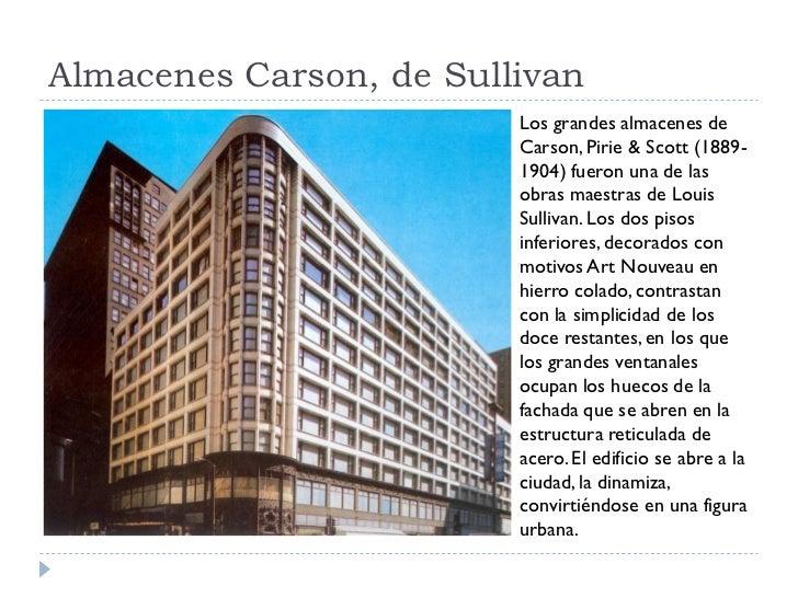 Almacenes Carson, de Sullivan                          Los grandes almacenes de                          Carson, Pirie & S...