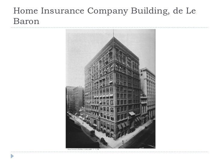Home Insurance Company Building, de Le Baron