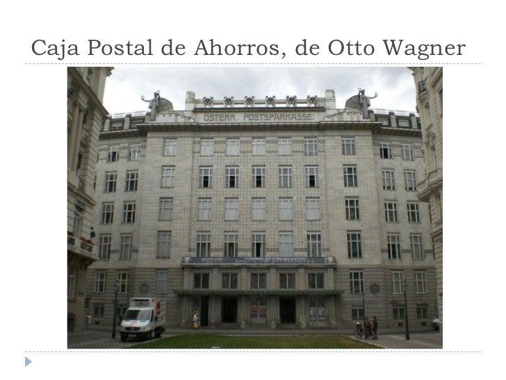 Caja Postal de Ahorros, de Otto Wagner