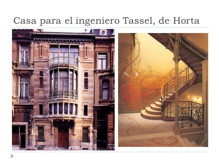 Casa para el ingeniero Tassel, de Horta