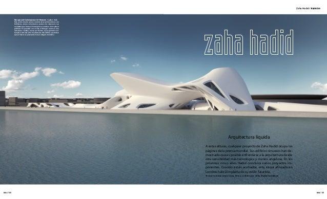 Arquitectura zaha hadid for Arquitectura zaha hadid