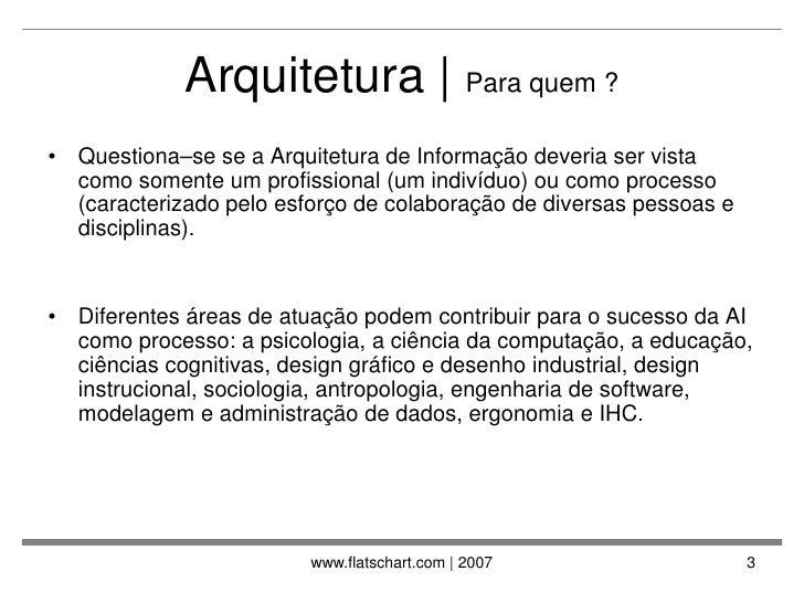 Arquitetura da Informacao na WEB Slide 3