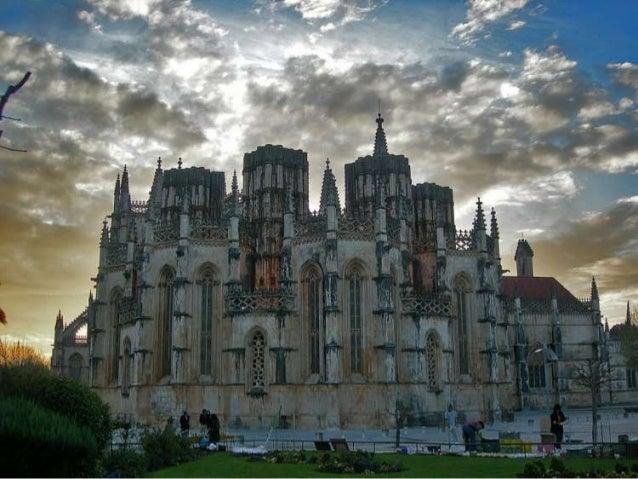 Arquitectura Medieval A construção do Mosteiro de Santa Maria da Vitória (Mosteiro da Batalha) começou em 1387 ou 1388 e e...
