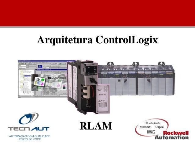 Arquitetura ControlLogix AUTOMAÇÃO COM QUALIDADE. PERTO DE VOCÊ. RLAM