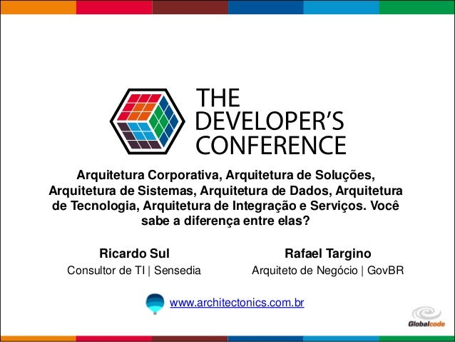 Globalcode – Open4education Arquitetura Corporativa, Arquitetura de Soluções, Arquitetura de Sistemas, Arquitetura de Dado...