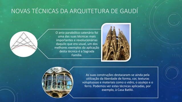 OBRA DE ANTONI GAUDÍ Barcelona: Igreja de St. Pacià (1879) Candeeiros de iluminação pública da Praça Real e da Praça de Pa...