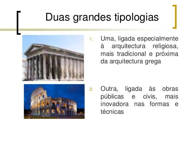 Arquitetura romana ii Slide 2