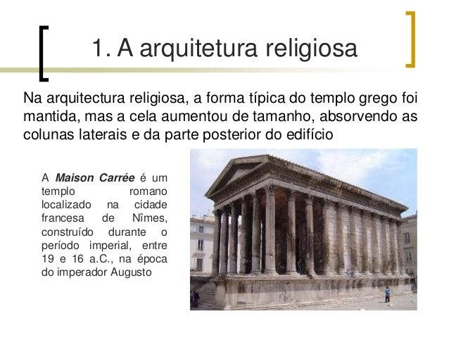 Arquitetura romana ii Slide 3
