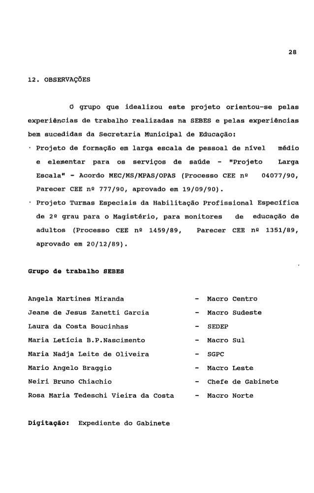 29BIBLIOGRAFIABARROSO, Carmen (ed). Mulher, sociedade e Estado no Brasil. São       Paul0 : Brasiliense, 1982.S.&O   PAULO...