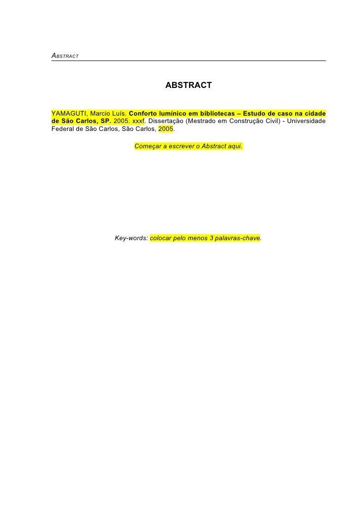 Escrever dissertação mestrado