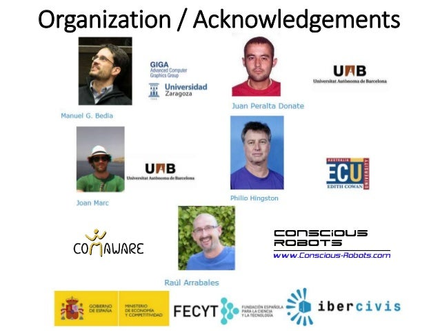 BotPrize 2014 Results. Human-Like Bots Competition at IEEE CIG Slide 2