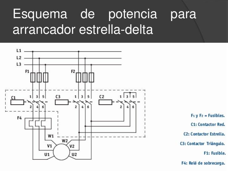 diagramas para motores delta estrella