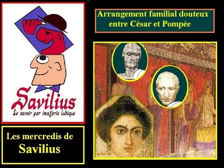 Arrangement entre César et Pompée