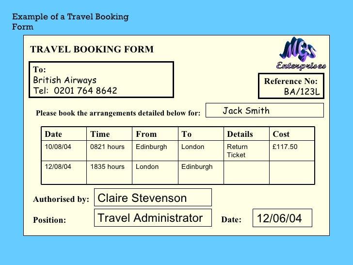 sample travel bill receipt