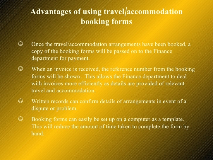 explain the purpose of keeping records of travel accommodation arrangements in a business environmen Staff meetings enable you to keep employees you may prefer to hold a meeting of all employees to explain purpose of weekly status meetings [business.