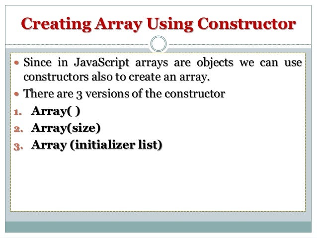 Using Arrays in PHP