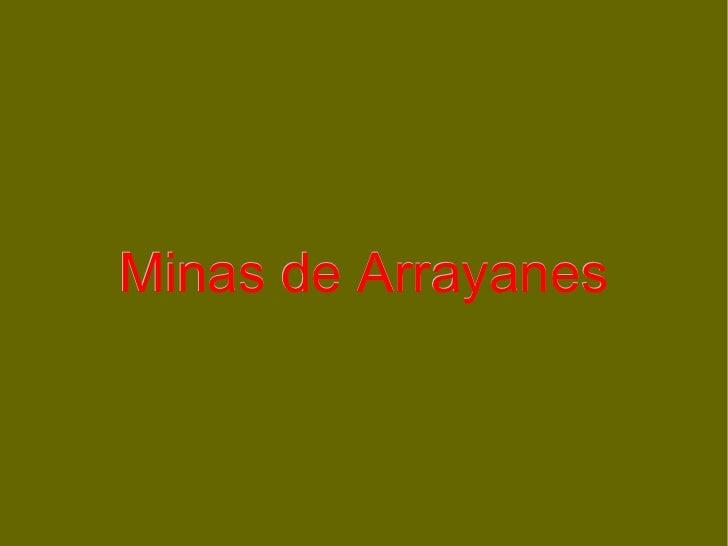 Minas de Arrayanes