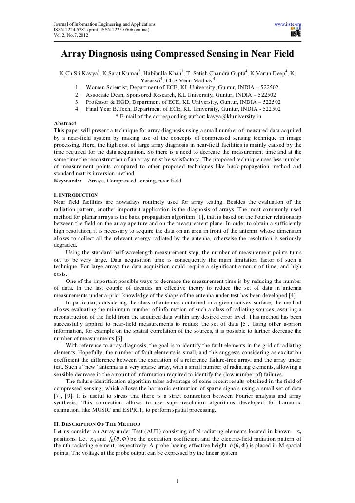 Journal of Information Engineering and Applications                                             www.iiste.orgISSN 2224-578...
