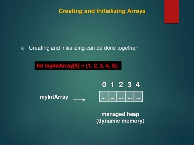 arrays in c language