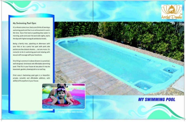 Arrdevpools readymade swimmingpool for Swimming pool conversion
