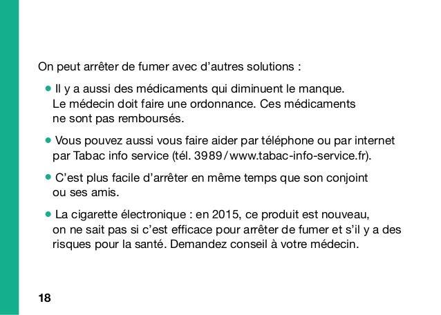 ?? Les autres solutions pour arrêter de fumer Médicaments Cigarette électronique Arrêter à plusieurs www.tabac-info-servic...