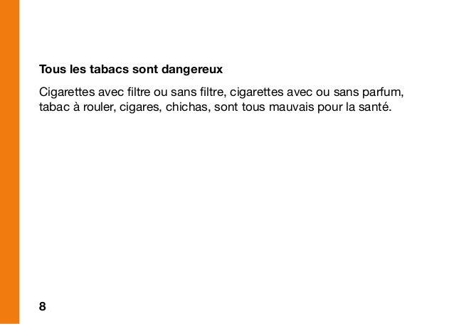 Tous les tabacs sont dangereux
