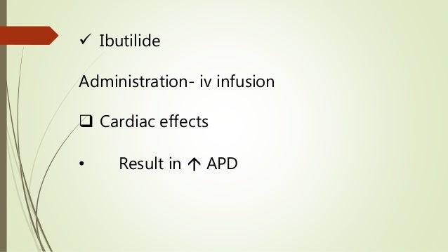 Arrhythmia - Pathophysiology and Treatment (Pharmacotherapy)