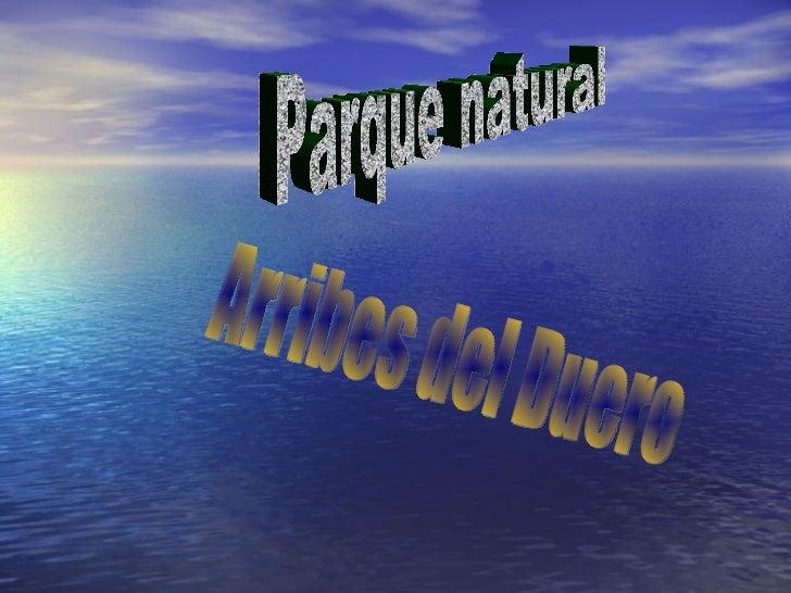 Arribes del Duero Parque natural