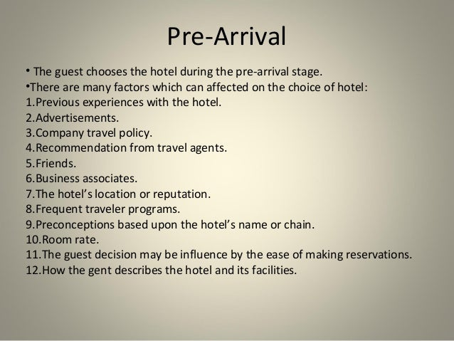 pre arrival letter to hotel for corporate guest hashdoc arrival amp departure 728