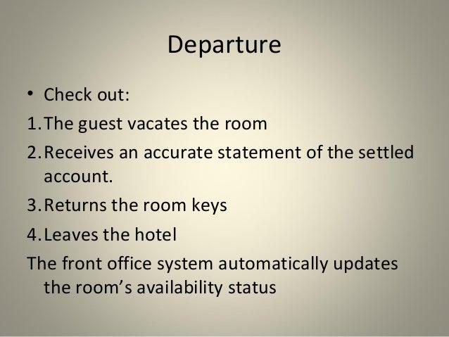 Arrival Amp Departure