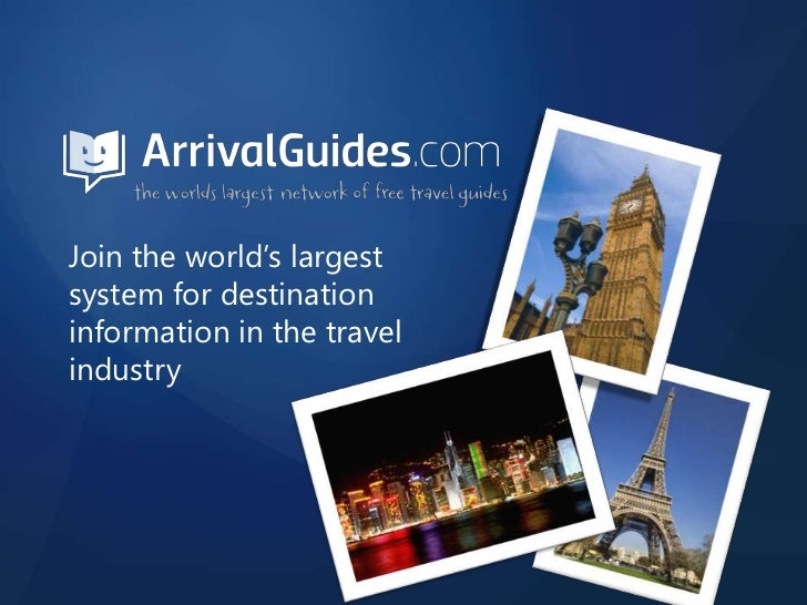Join the world's largest system for destination information in the travel industry<br />