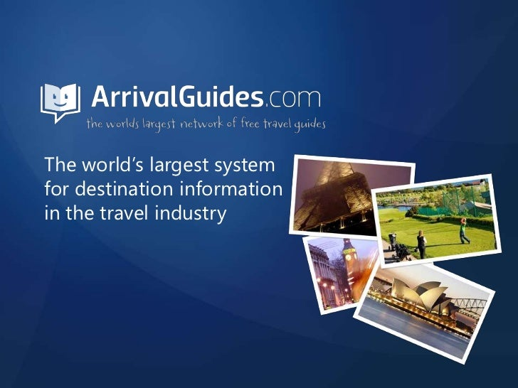 The world's largest system for destination information in the travel industry<br />