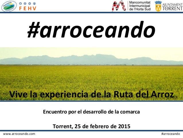 www.arroceando.com                                                           ...