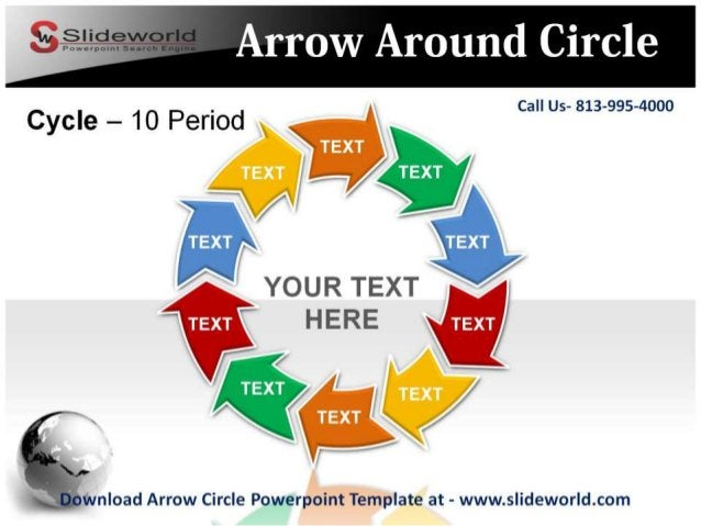 Arrow Around Circle     Call Us- 813-995-4000          Cycle - 10 Period W V ' /  _ 4 ~ % fi/    YOUR TEXT fi H ERE gwvnload...