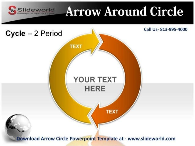 Download arrow circle powerpoint template arrow toneelgroepblik Gallery